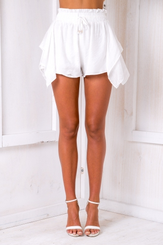 Carin shorts - White