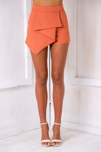 Megan shorts - Terracotta