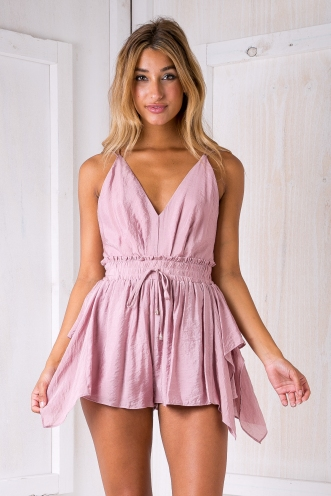 Sapphire playsuit - Dusty pink