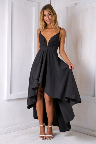 Dreamer backless maxi dress - Black
