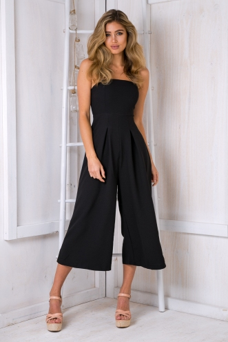Lotus jumpsuit -Black