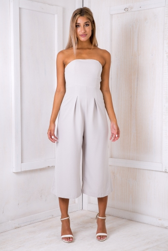 Lotus jumpsuit - Light grey