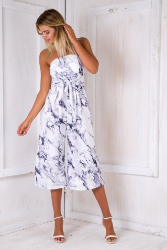 Pip jumpsuit - Marble print