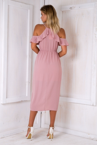 Eve maxi dress - Dusty pink