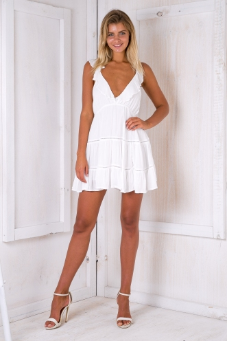 Lost Lover dress - White