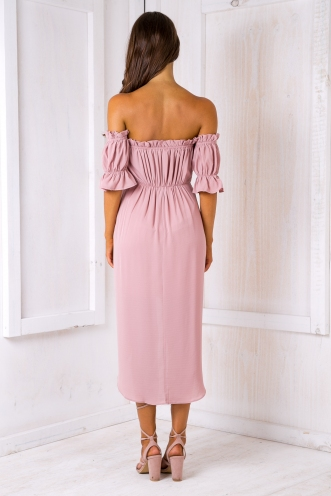 Caterina dress - Dusty pink
