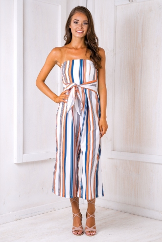 Pip jumpsuit - Multi stripe