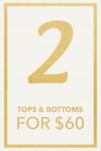 2 Tops & 2 Bottoms Pack