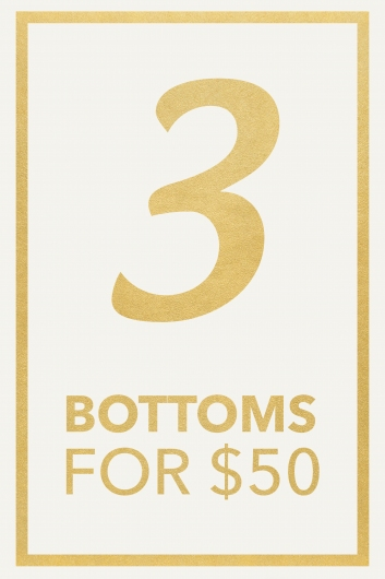 3 Bottoms Pack