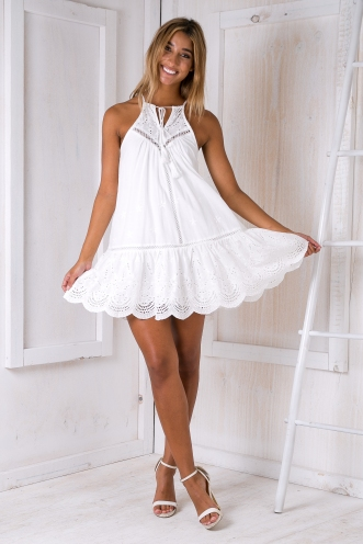 Penelope dress - White