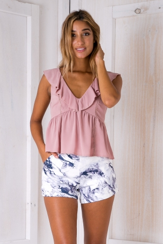 Penny top - Dusty pink