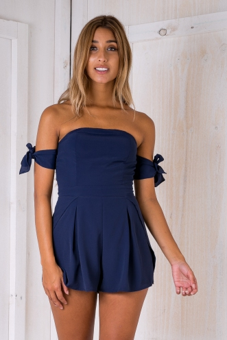 Arizona playsuit - Navy-SALE