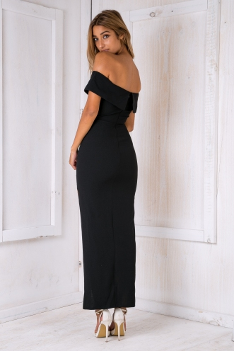 Casablanca evening dress- Black