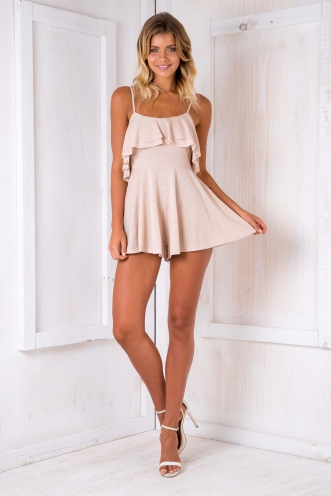 Kay playsuit - Beige