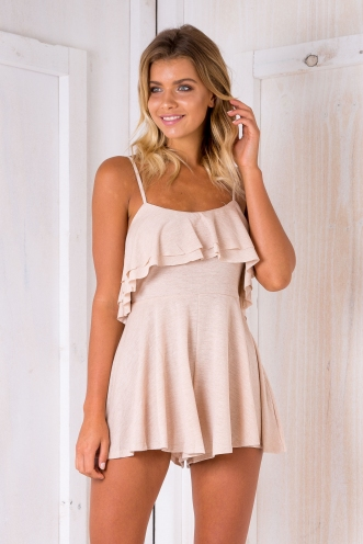 Kay playsuit - Beige SALE