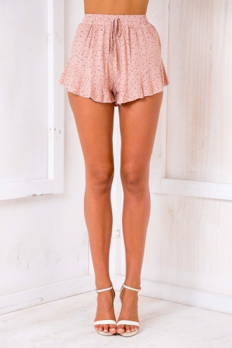 Izzy shorts - Dusty Pink/Beige