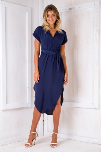Pippa dress- Navy