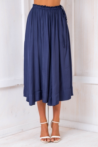 Aruba maxi skirt - Navy