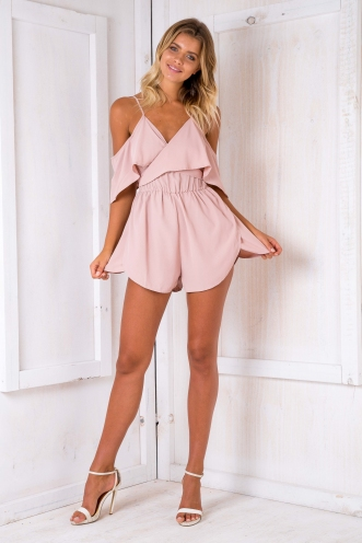 Mika playsuit - Dusty pink