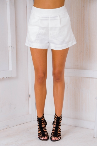 Sienna shorts - White