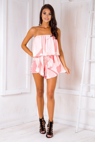 Blair playsuit - Pink