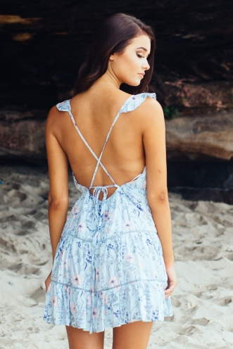 Lost Lover dress - Baby blue