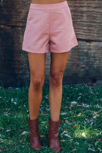 Kara shorts - Dusty pink