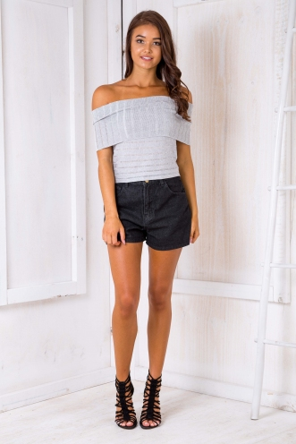 Quiny top - Grey