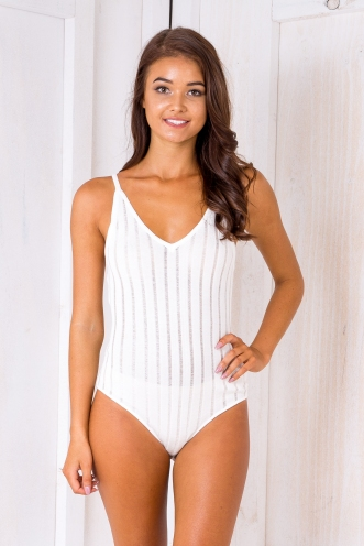 Jada bodysuit - White