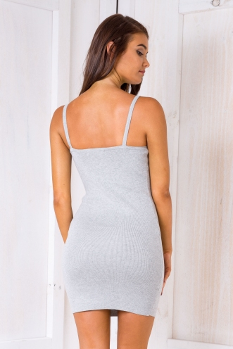 Talisha bodycon dress - Grey