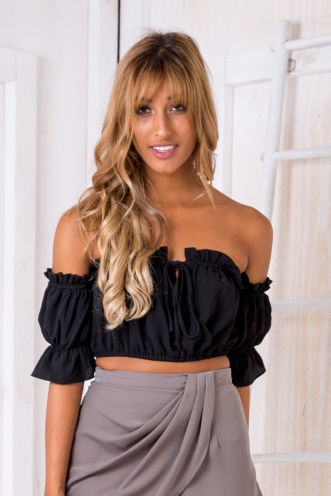 Dreaming gypsy top - Black