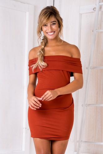 The Gwen Dress - Toffee