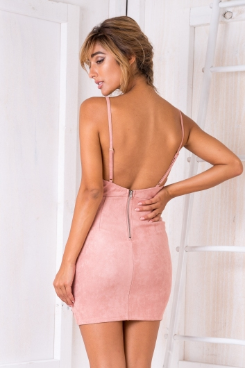 Dilemma Dress - Dusty Rose