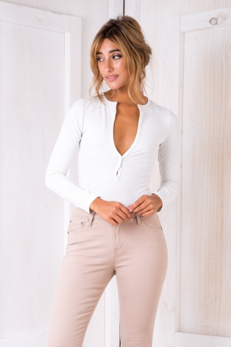 Elyza bodysuit - Light Grey