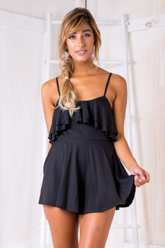 Kay playsuit - Black