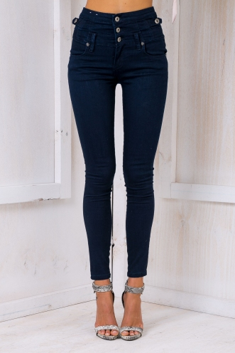 Chloe High waisted denim jeans - Navy