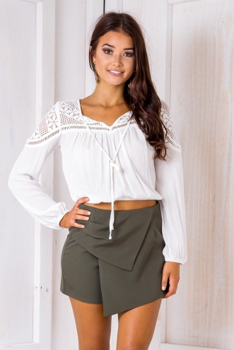 Selma Top - White