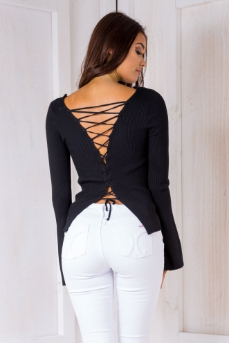 Natasha Top - Black