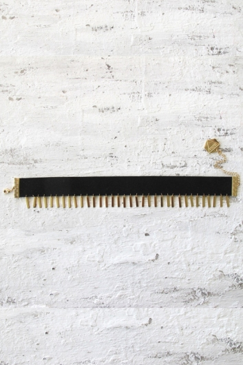 Minc collections - Stevie choker - Black/ Gold