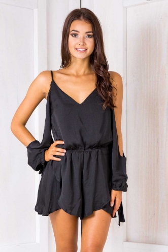 Zara playsuit - Black