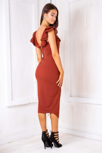 Vana dress - Brown