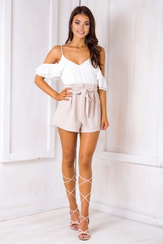 Tomislava playsuit - White/ Beige