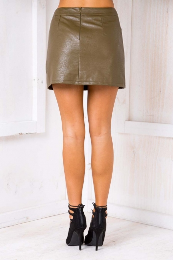 Gloria mini skirt - Khaki