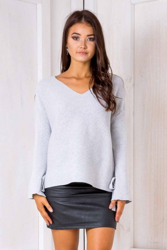 Rafaella Jumper - Grey-SALE