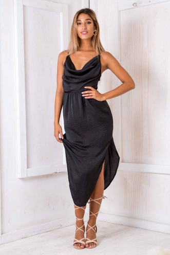 Fifi dress - Black-SALE