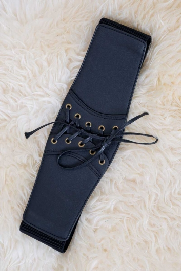 Lace em up belt