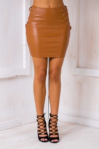 Brooke skirt - Tan