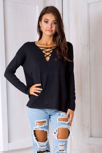 Claire - Ellen Jumper - Black