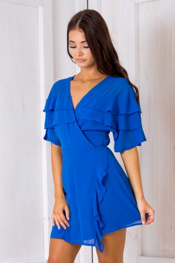 Keely dress - Blue