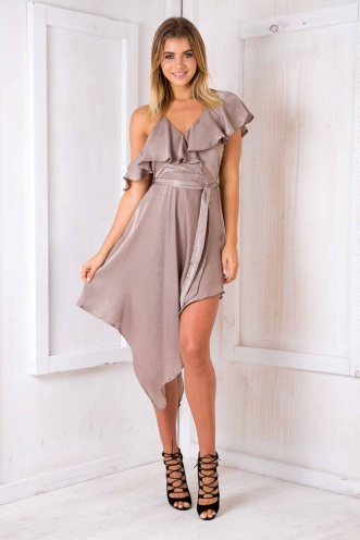 Alicia dress - Dove